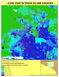 La County Map Mapping Police Violence In Los Angeles