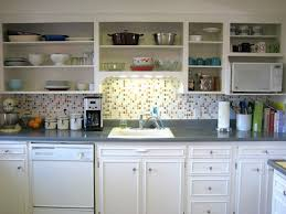 remove kitchen cabinet doors for open shelving kitchen room to think