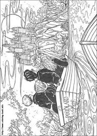 harry potter color cartoon characters coloring pages color