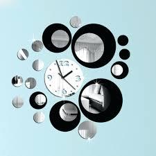 wall ideas s wall clock fashion creative clock clock and mirror