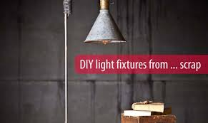 Diy Light Fixtures Diy Lighting Upcycling Household Products To Quirky Light Fixtures