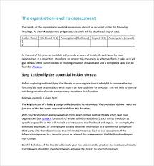 business assessment report template security risk assessment 9 free documents in pdf word