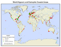 Map With Oceans Oceans World Resources Institute