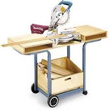 Table Saw Stand With Wheels 6 Diy Space Saving Miter Saw Stand Plans For A Small Workshop