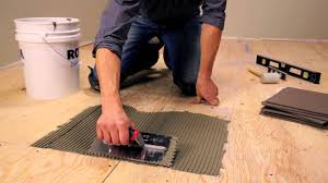 rona how to lay floor tiles