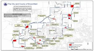 Colorado County Map by Current Projects City And County Of Broomfield Official Website