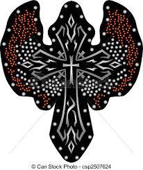 tribal cross design eps vectors search clip illustration