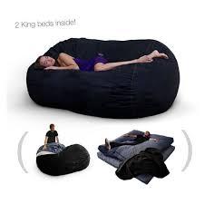 cordaroys king sofa sleeper corda roys double king size convertible foam bean bag bed in bean
