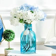 Wholesale Glass Flower Vases Flower Vases Blue Glass Vases Wholesale