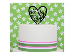all you need is cake topper sweet pea cake toppers decorations