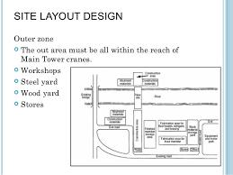 construction site plan 113 site layout design