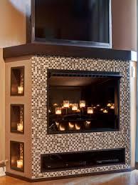 entertainment center fireplace binhminh decoration