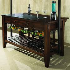 culinary kitchen island with wine storage by intercon wolf and