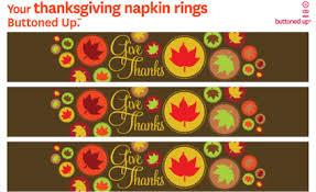 free thanksgiving printable napkin rings happy thanksgiving