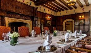 Thornbury Castle Events Party Venues Bristol For Hire - Castle dining room