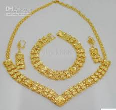 gold plated necklace sets images 2018 high end jewelry sets 18k gold plated jewelry set necklace jpg