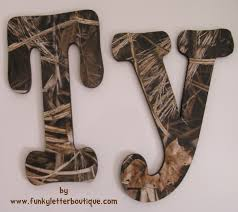 Realtree Camo Bedroom Max 4 Hd Camo Wall Letters Realtree Camouflage Funky Letter