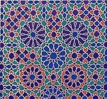 arabesque ornament a decorative style characterized by