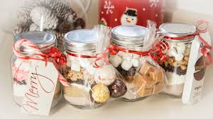 hot cocoa gift set 4 hot cocoa in a jar flavors edible gifts