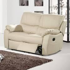 3 Seater Cream Leather Sofa Cream Leather Recliner Sofa Centerfieldbar Com