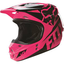 motocross gear for girls fox racing 2016 girls youth v1 race helmet pink available at