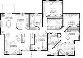 detailed floor plans multigenerational home plans sophisticated multi generational house