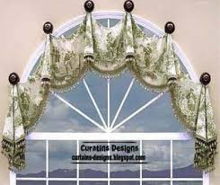 Arched Window Curtain Arched Windows Curtains On The Hooks Arched Windows Treatmentes