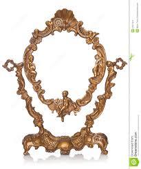 antiker spiegel gold antiker spiegel stockfotografie bild 27677912