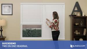 2 on 1 headrail for faux wood blinds quickdemo u0026raquo