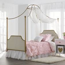 Gold Canopy Bed Seeds Monarch Hill Clementine Canopy Bed Gold