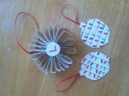 how to make paper ornaments for cheap