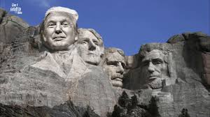 mt rushmore trump jokes trump thinks he should be on mount rushmore comment
