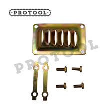 new muffler cover and locking plate for stihl 070 090 ms720