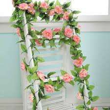 Flowers For Home Decor 1pcs Diy Artificial Rose Vines 11 Color Flowers For Wedding