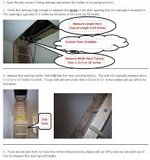 energy saving attic access products how to measure for attic