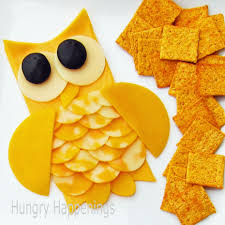 cheese slice owls a fun halloween appetizer hungry happenings