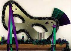 large mardi gras mask mardi gras wreath fleur de lis wreath mardi gras new orleans