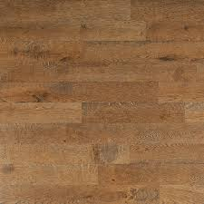 cut rustic laminate flooring around the door frames