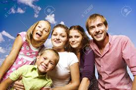 happy big family stock photo picture and royalty free image