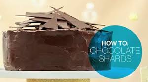 how to make chocolate garnishes canadian living