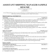 sample resume for warehouse supervisor sample warehouse supervisor