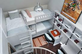 l shaped bunk beds with desk gray l shaped bunk beds contemporary boy s room