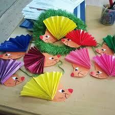 paper plate hedgehog craft crafts and worksheets for preschool