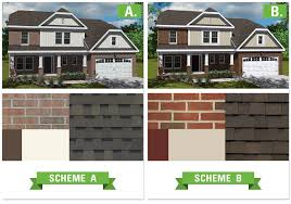 Home Design Exterior Paint Exterior House Color Schemes With Red Brick Trina Clark Home