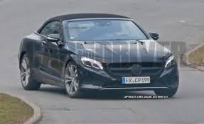 camo maserati 2017 mercedes benz s class cabriolet spied nearly camo free u2013 news