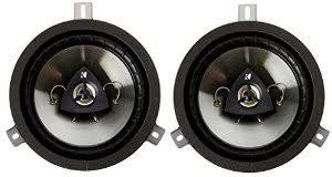 jeep wrangler speaker amazon com jeep wrangler jk kicker speaker upgrade automotive
