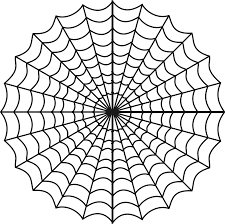 clipart spiders web