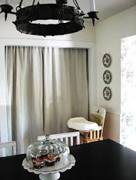 Kitchen Pantry Curtains I Was Just Talking About Doing This For My Open Pantry Ideas