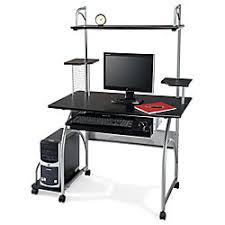 Realspace Computer Desk Realspace Zillope Computer Desk 57 78 H X 47 110 W X 26 35 D Black