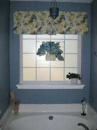 Window Ideas For Bathrooms Bathroom Futuristic Floral Window Curtain For Bathroom Design